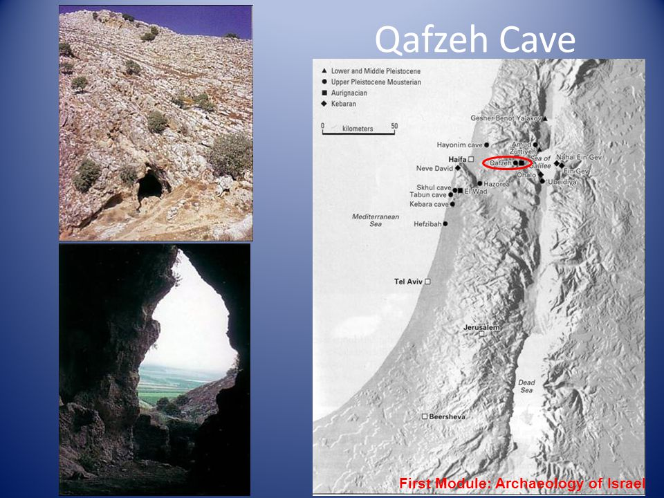 Qafzeh Cave First Module: Archaeology of Israel