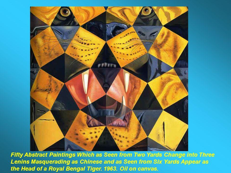 The Trinity (Study for The Ecumenical Council). 1960. Oil on canvas