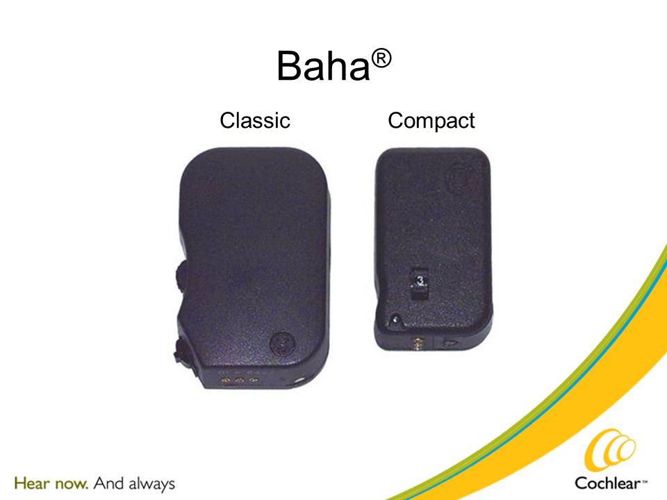 Baha ® ClassicCompact