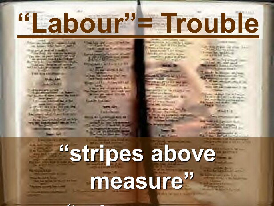 Labour = Trouble stripes above measure prisons more frequent prisons more frequent