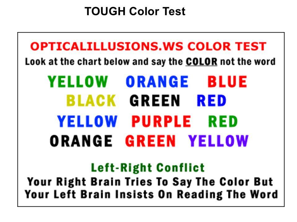 TOUGH Color Test