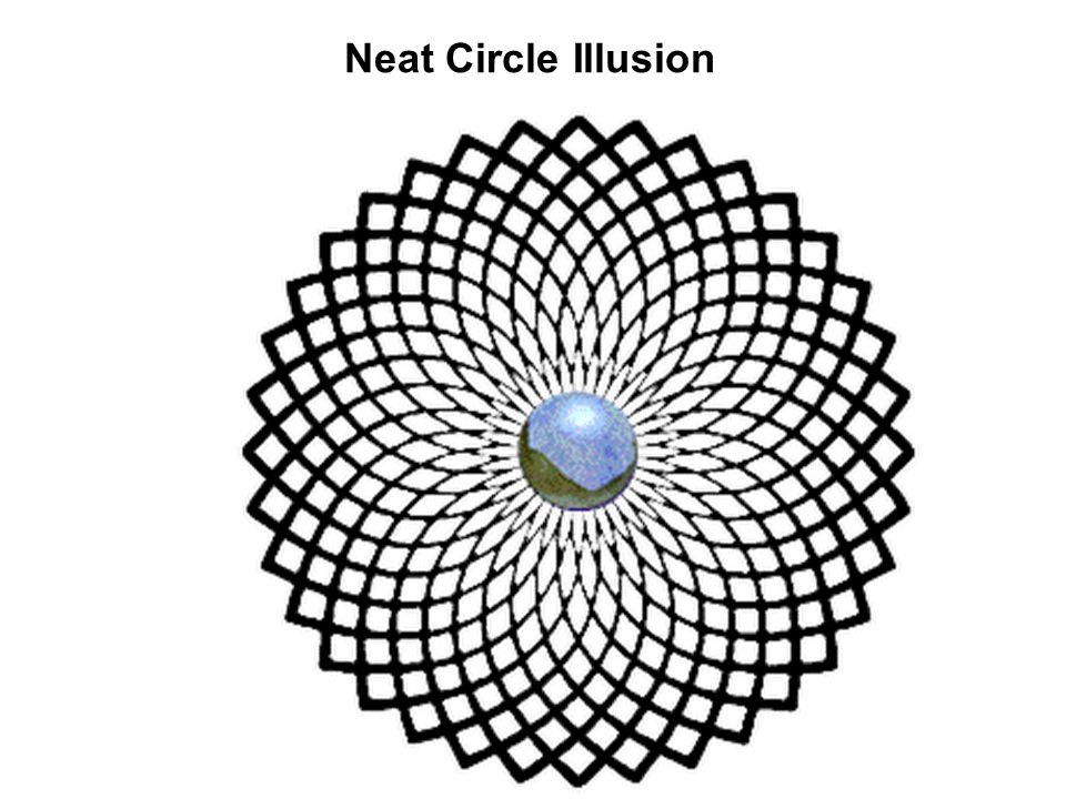 Neat Circle Illusion