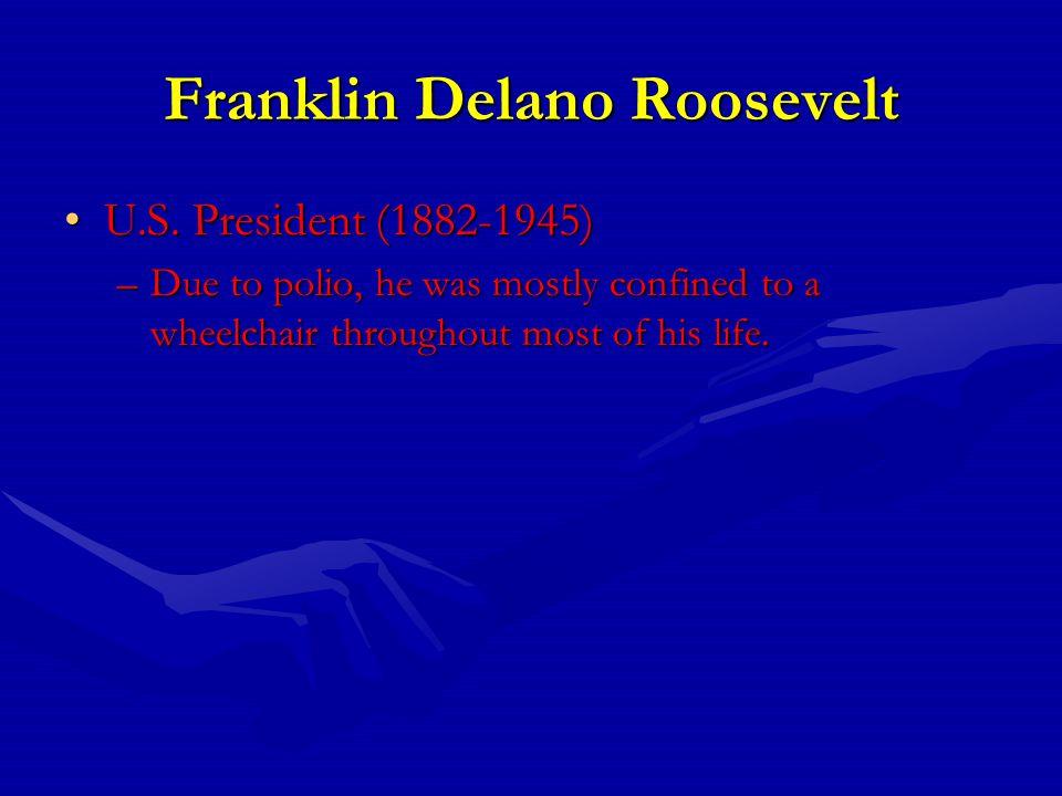 Franklin Delano Roosevelt U.S. President (1882-1945)U.S.