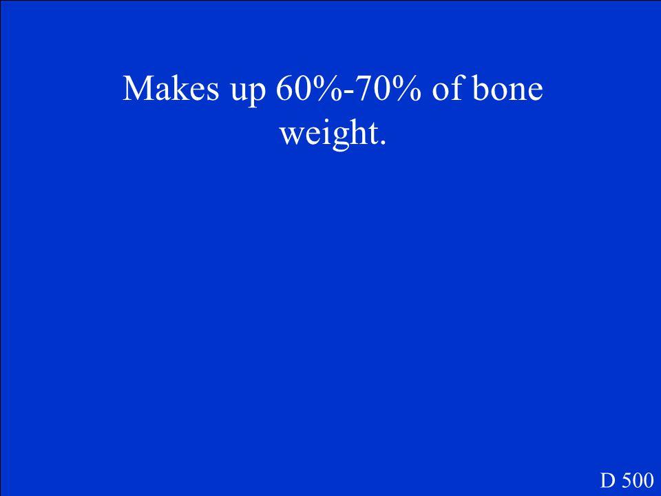 What are short bones? D 400