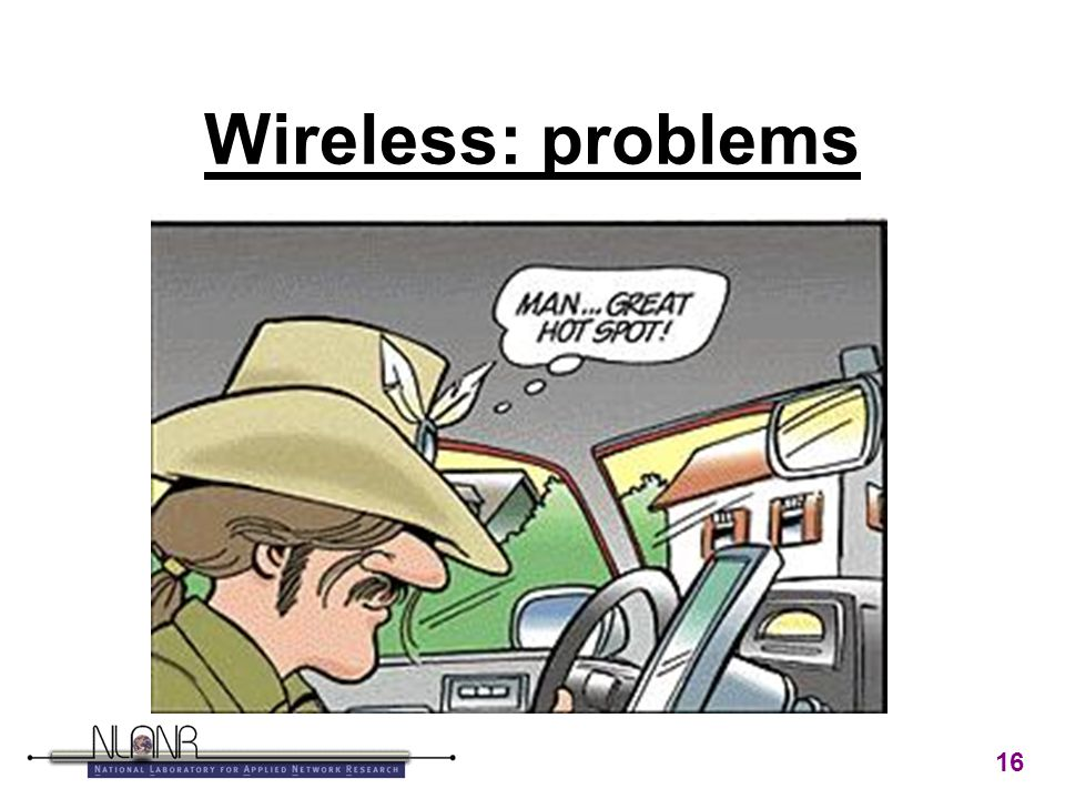 16 Wireless: problems