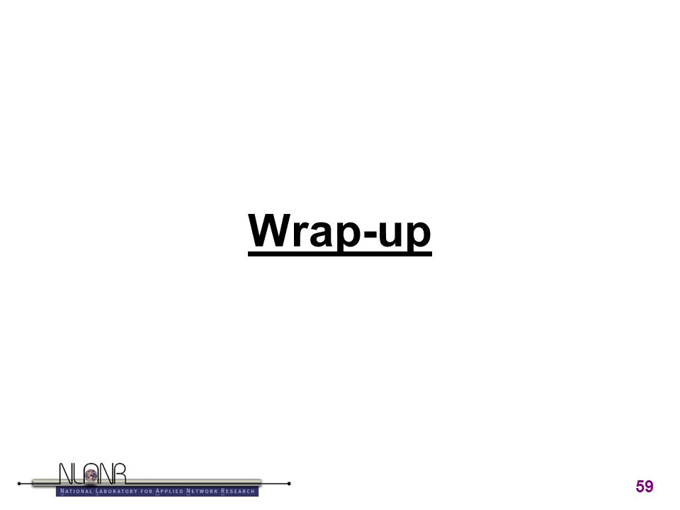 59 Wrap-up