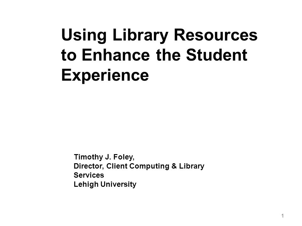 MyLibrary Portal Usage November 2007 3500 unique visitors – 38% Undergraduates – 49% Graduates – 13% Faculty and Staff Visits by College – Engineering 33% – Arts and Science 22% – Education 22% – Business 14% – Undeclared 9% See http://mylibrary.lehigh.edu/repository/http://mylibrary.lehigh.edu/repository/ 12