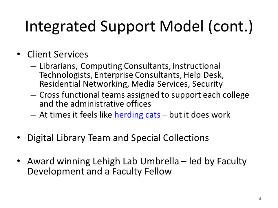 Summary Innovation organizational structure Librarian expertise to enhance student experience – Content and organizational skills – Client Services skills to understand the needs of our clients Use of unique Lehigh resources – Special Collections materials used in creative ways for instruction – Digital Library to make resources available to all 25