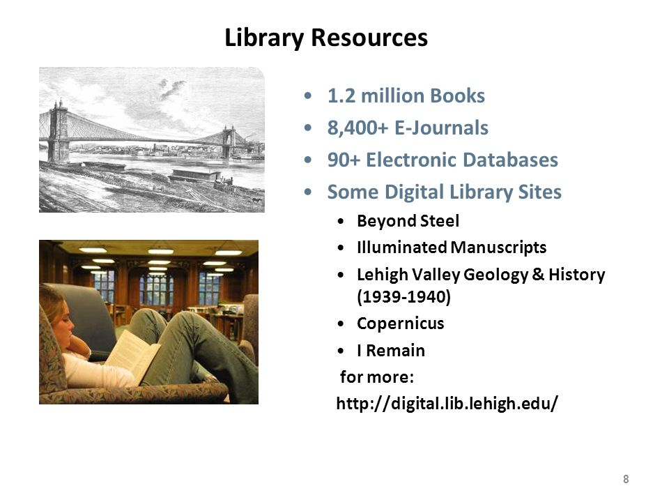 9 MyLehigh+MyLibrary - Use of the campus portal for personalized electronic resources