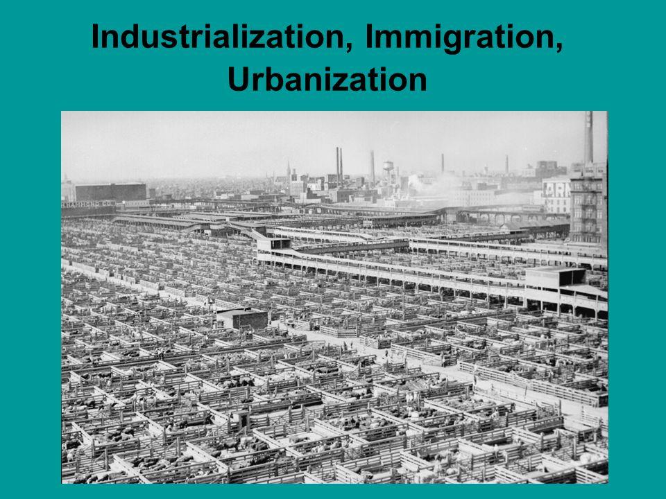 Unions Immigrants were flooding the U.S.