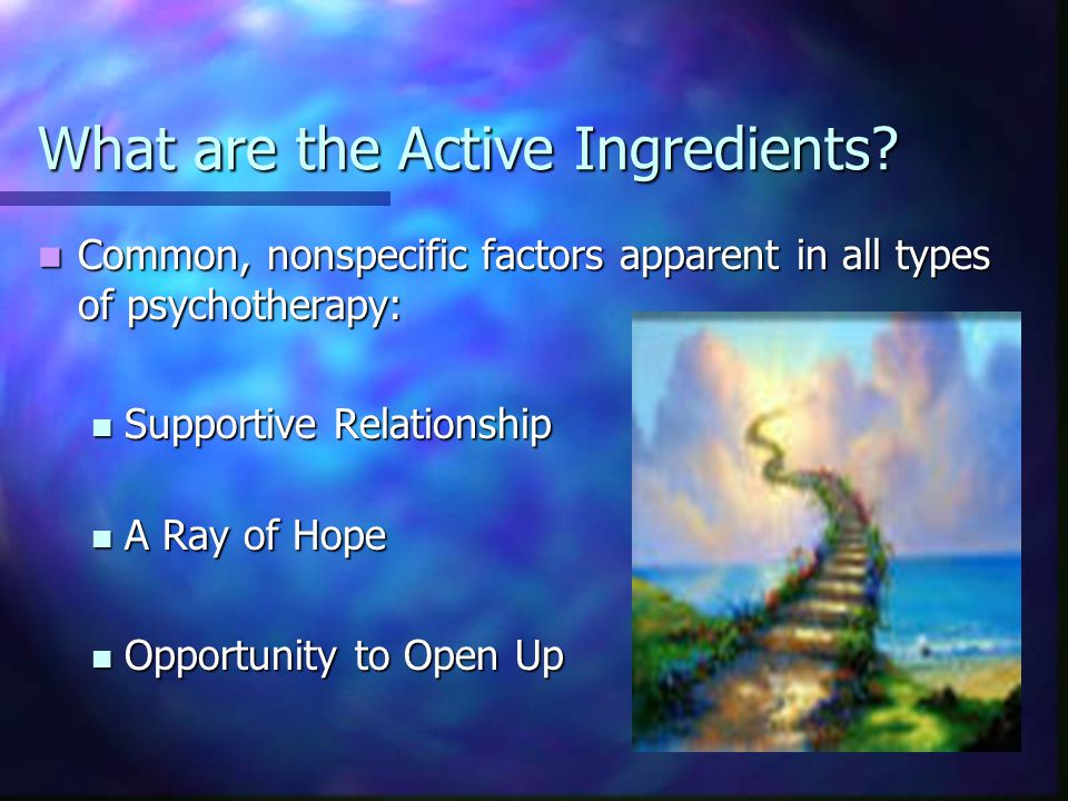 What are the Active Ingredients.