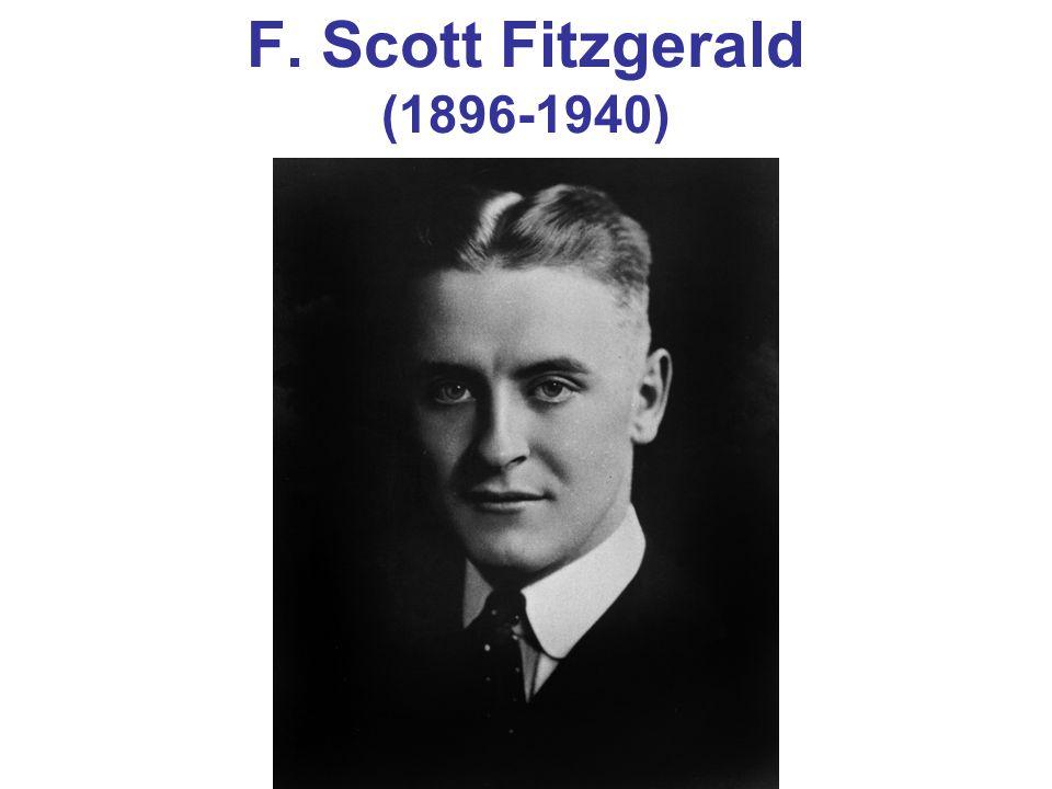 F. Scott Fitzgerald's Latest A Dud —New York World headline