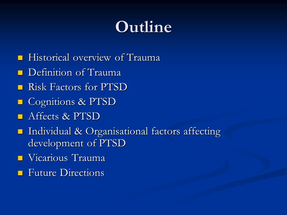 Affects & PTSD The result is that traumatic, angry experiences are burned in – this is why the bad experiences from our childhood are often more vivid than the good experiences about growing up The result is that traumatic, angry experiences are burned in – this is why the bad experiences from our childhood are often more vivid than the good experiences about growing up Defensive responses inconsistent with our values and ideal self are reinforced (eg) irritability and anger Defensive responses inconsistent with our values and ideal self are reinforced (eg) irritability and anger Feelings of Regret, Shame, Guilt, fervent resolutions about the next time all have little effect on the Brain's conditioning, including vulnerability to losing executive functions in similar situations in the future Feelings of Regret, Shame, Guilt, fervent resolutions about the next time all have little effect on the Brain's conditioning, including vulnerability to losing executive functions in similar situations in the future Primacy of Affect – Alan Schore (2007) – the locus of the emotional brain represents the biological substrata of the Unconscious as described by Freud Primacy of Affect – Alan Schore (2007) – the locus of the emotional brain represents the biological substrata of the Unconscious as described by Freud The Body keeps the Score – van der Kolk (2007) The Body keeps the Score – van der Kolk (2007)