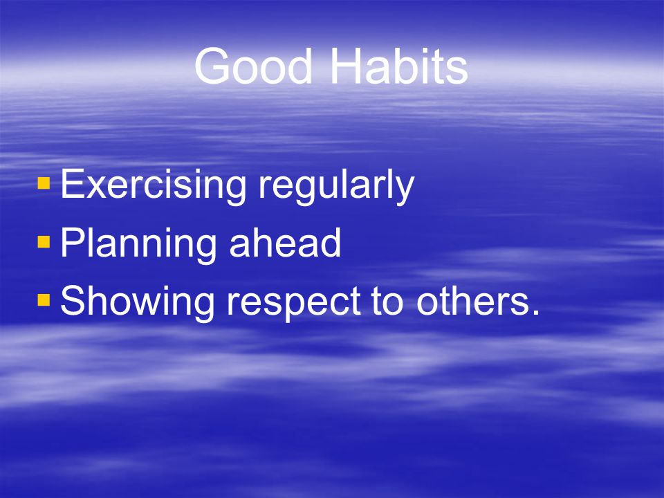Habit #2 Begin With the End in Mind