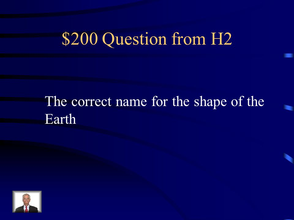 $100 Answer from H2 Atlas
