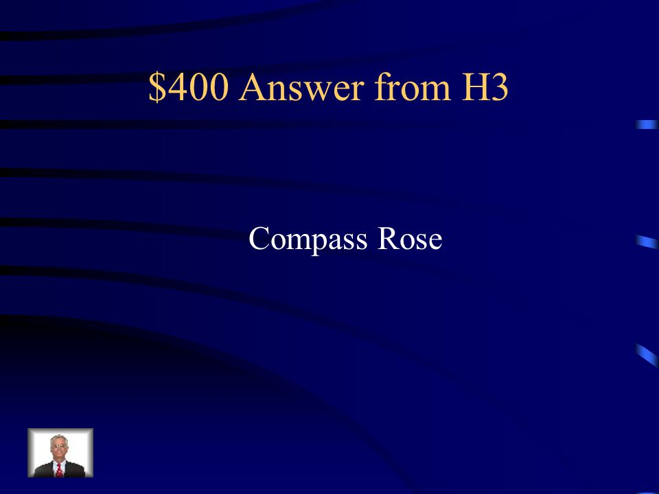 $400 Question from H3 Man, we've been going the wrong Way for five hours! yelled Sheccid.
