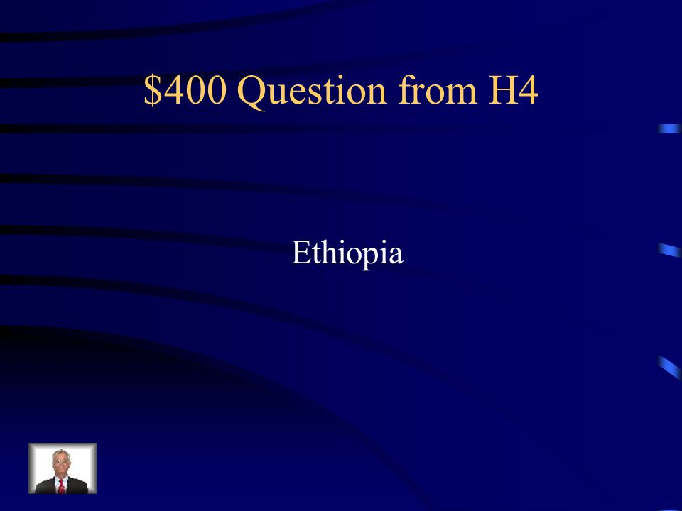 $300 Answer from H4 Southern and Western