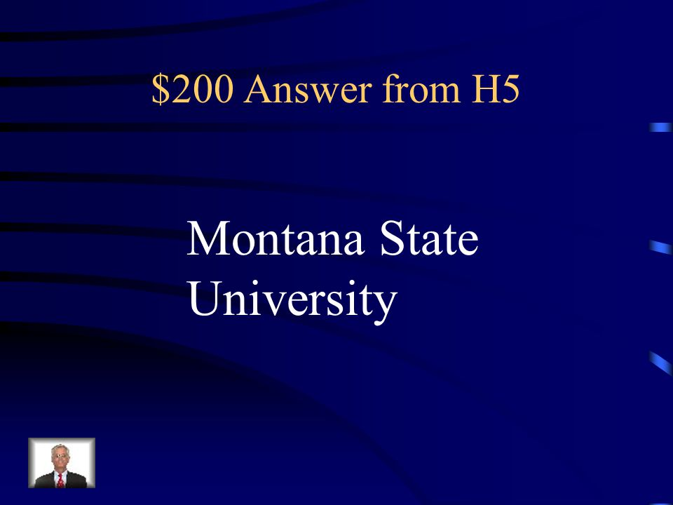 $200 Question from H5 What college did Ms. Souhrada attend