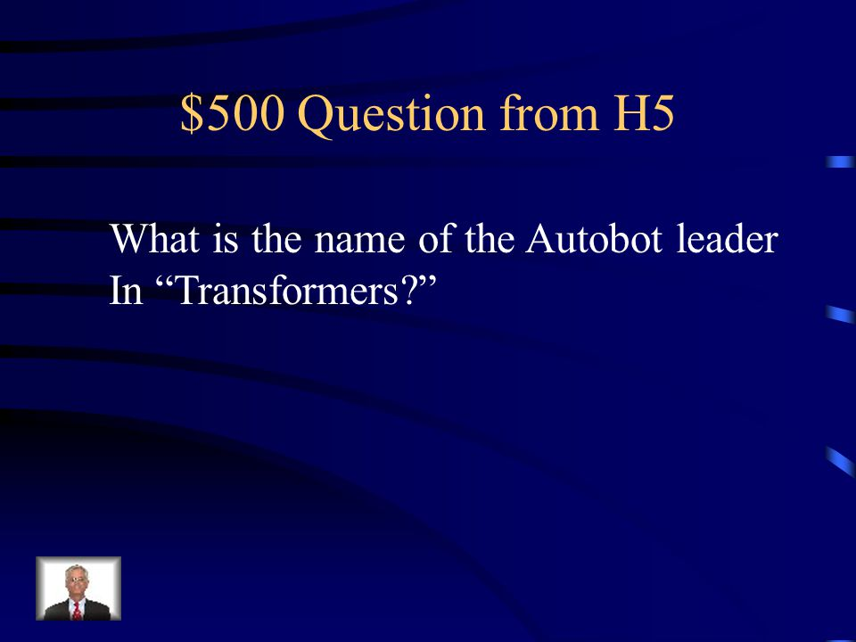 $400 Answer from H5 90 degrees N