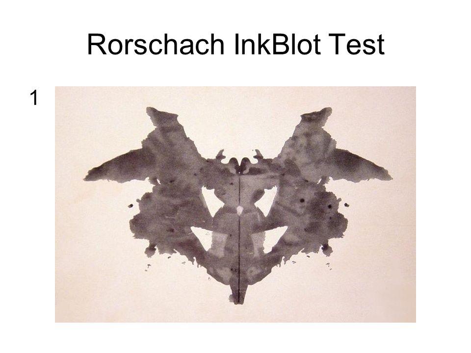 Rorschach InkBlot Test 1