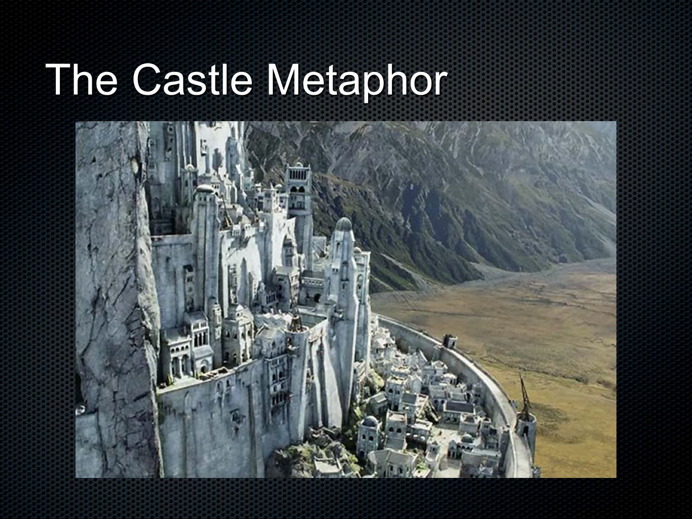 The Castle Metaphor