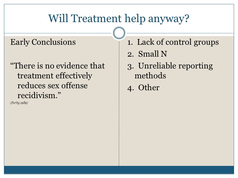 Will Treatment help anyway.