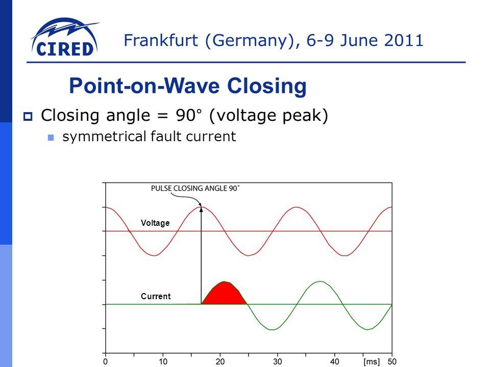 Frankfurt (Germany), 6-9 June 2011 TEAM1 60A TEAM3 70A TEAM4 30A TEAM5 40A TEAM6 60A Rapid Self-Healing SRC 1 SRC 2 SRC 4 100A Max 350A Max 400A Max IR5 senses loss of voltage, opens, and immediately initiates Rapid Self-Healing.