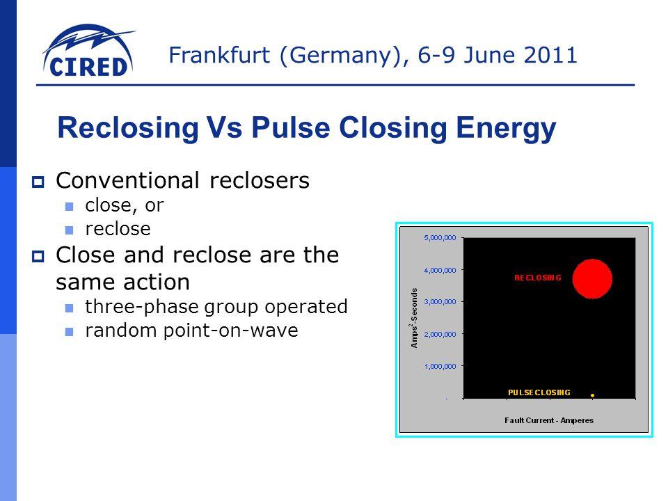 Frankfurt (Germany), 6-9 June 2011 PulseFinder  T=1.5 sec  IR-3 pulses