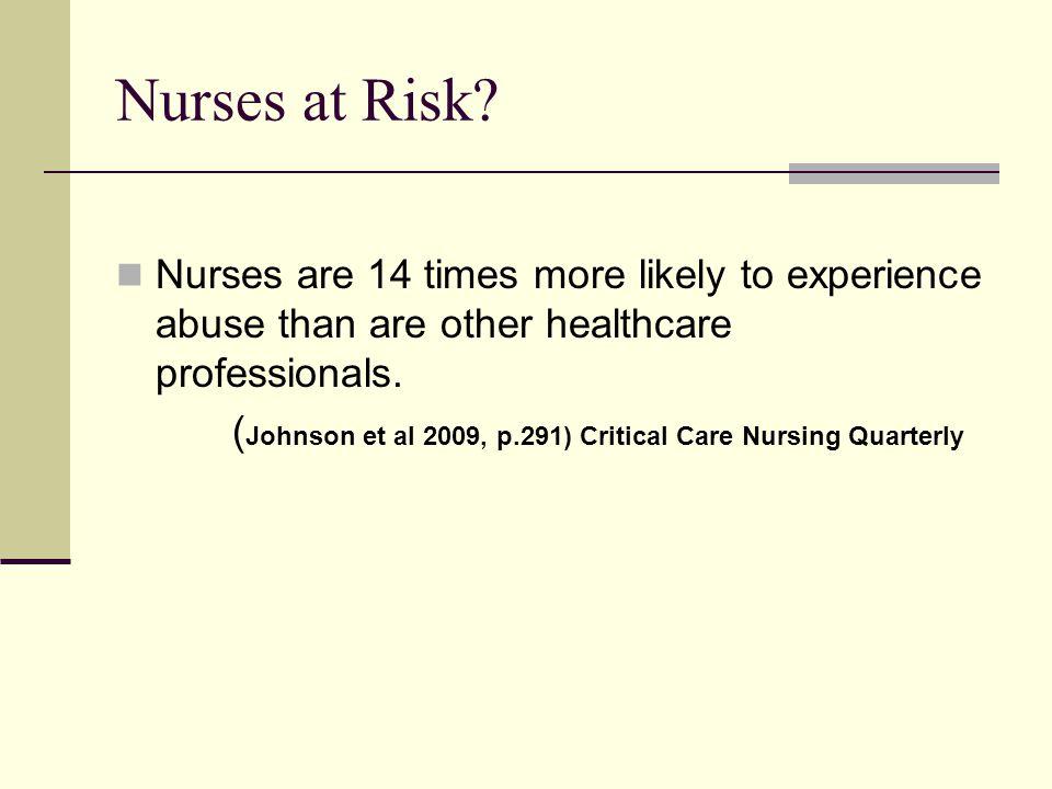 Nurses at Risk.
