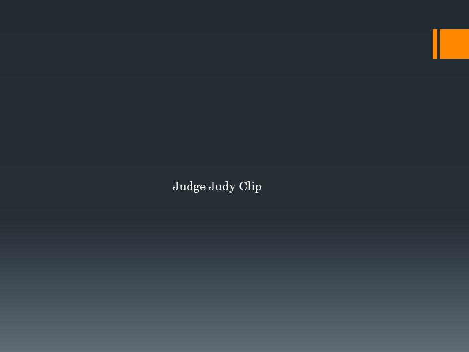 Judge Judy Clip