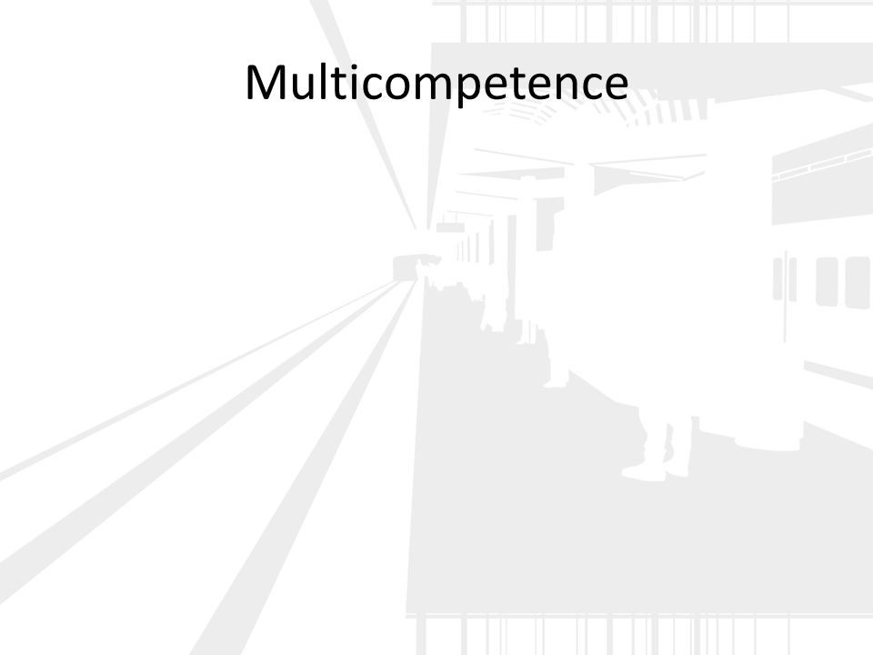 Multicompetence