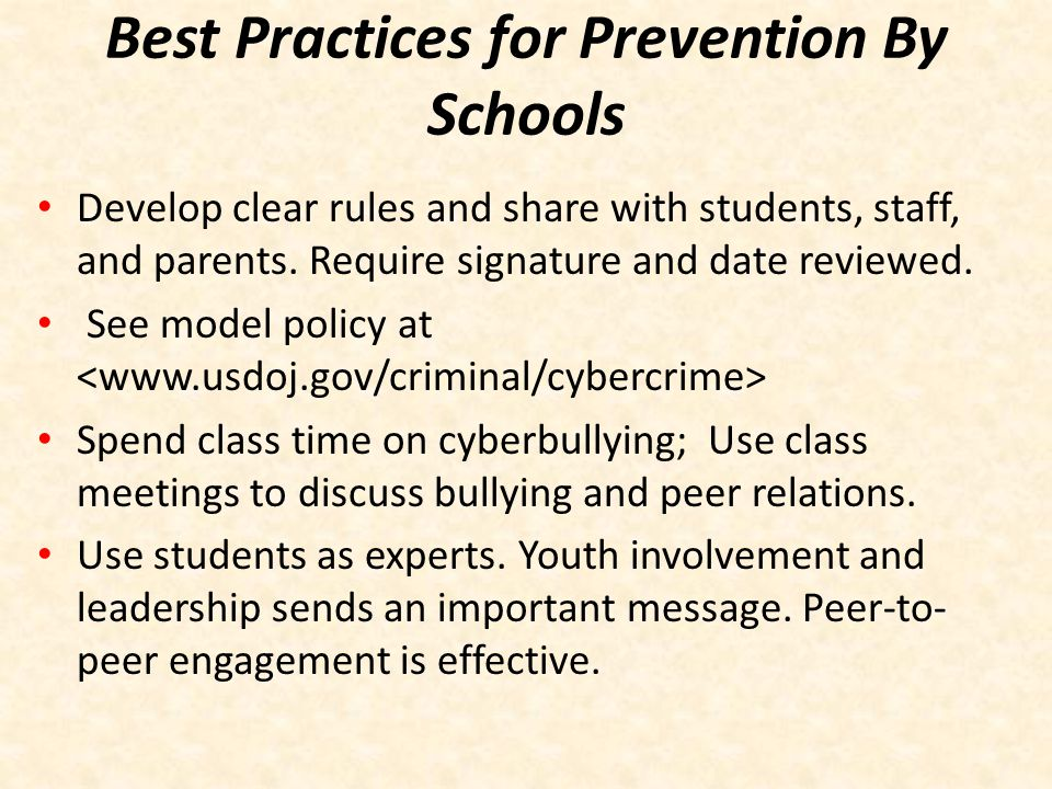 Schools Can Also….Build strong parent/school relationships.