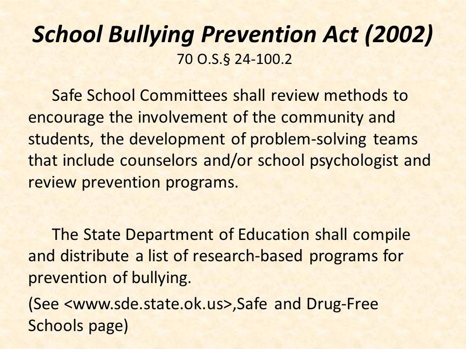 Oklahoma Telecommunications Law House Bill 1804 (2005) 21 O.S.