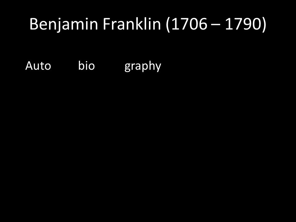Auto bio graphy
