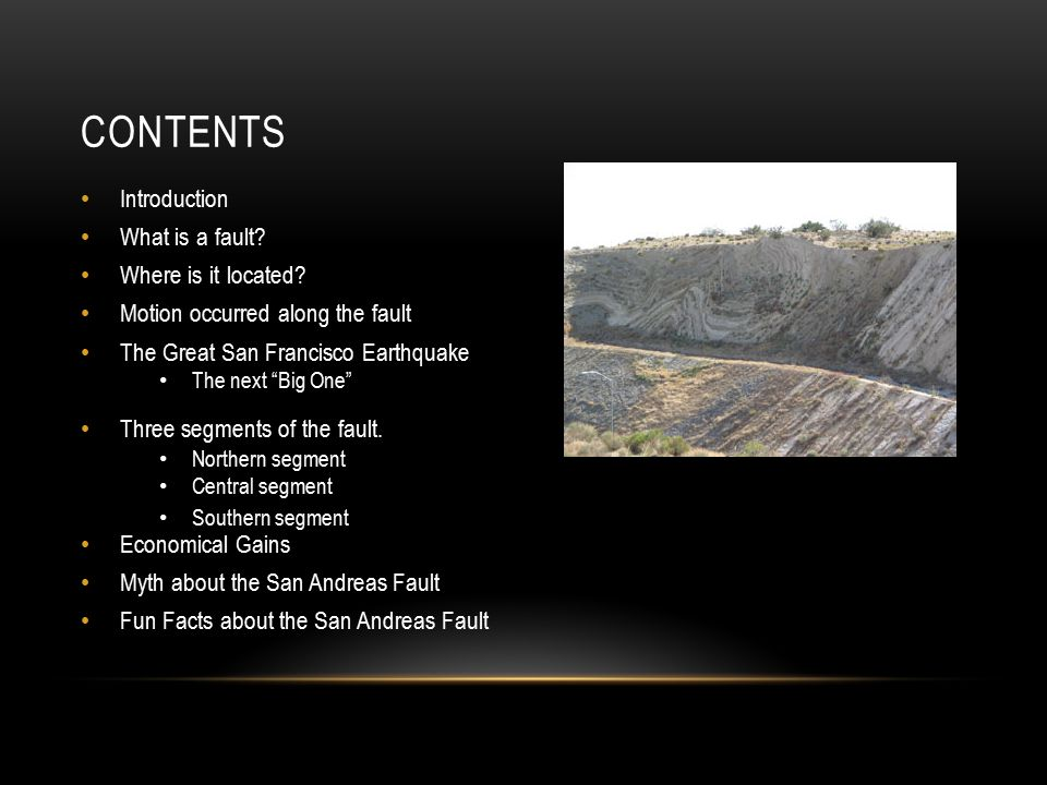 CONTENTS Introduction What is a fault.Where is it located.