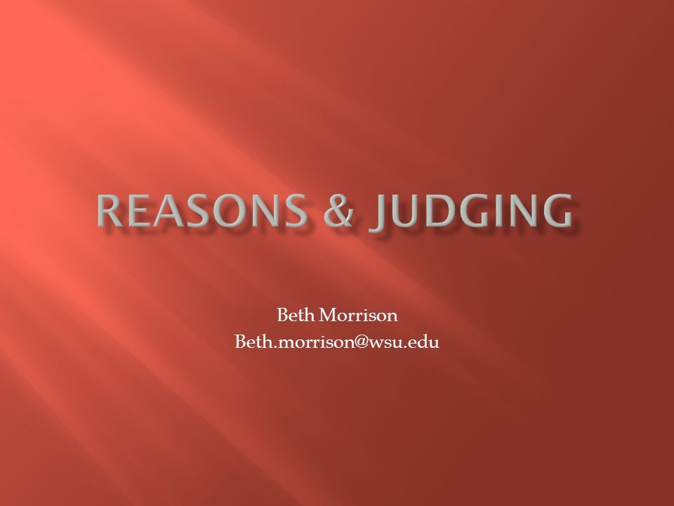 Beth Morrison Beth.morrison@wsu.edu