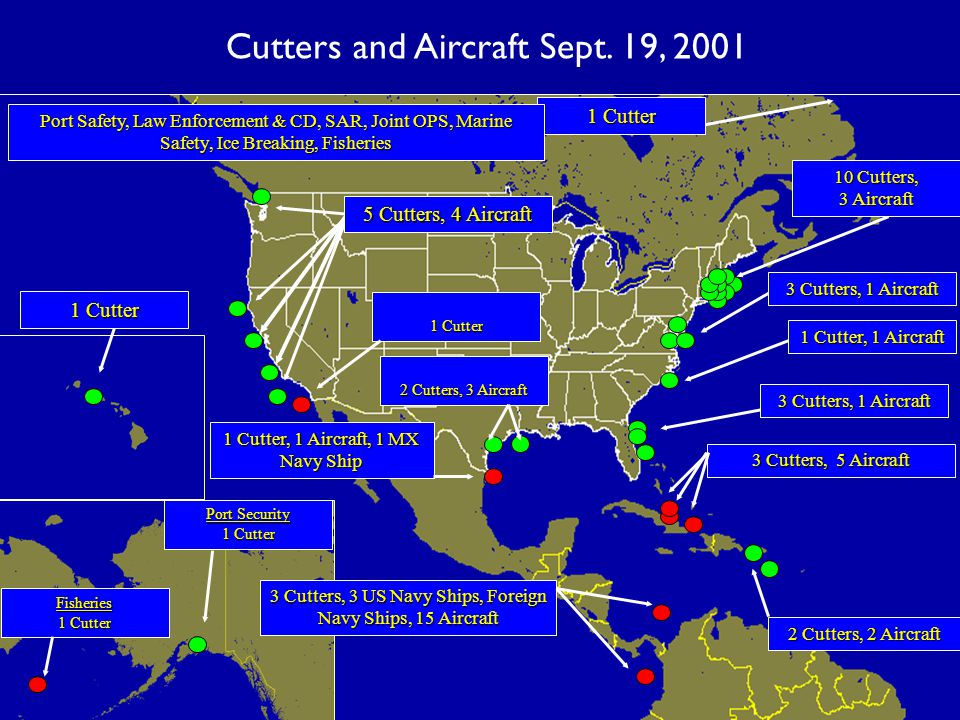 Cutters and Aircraft Sept.