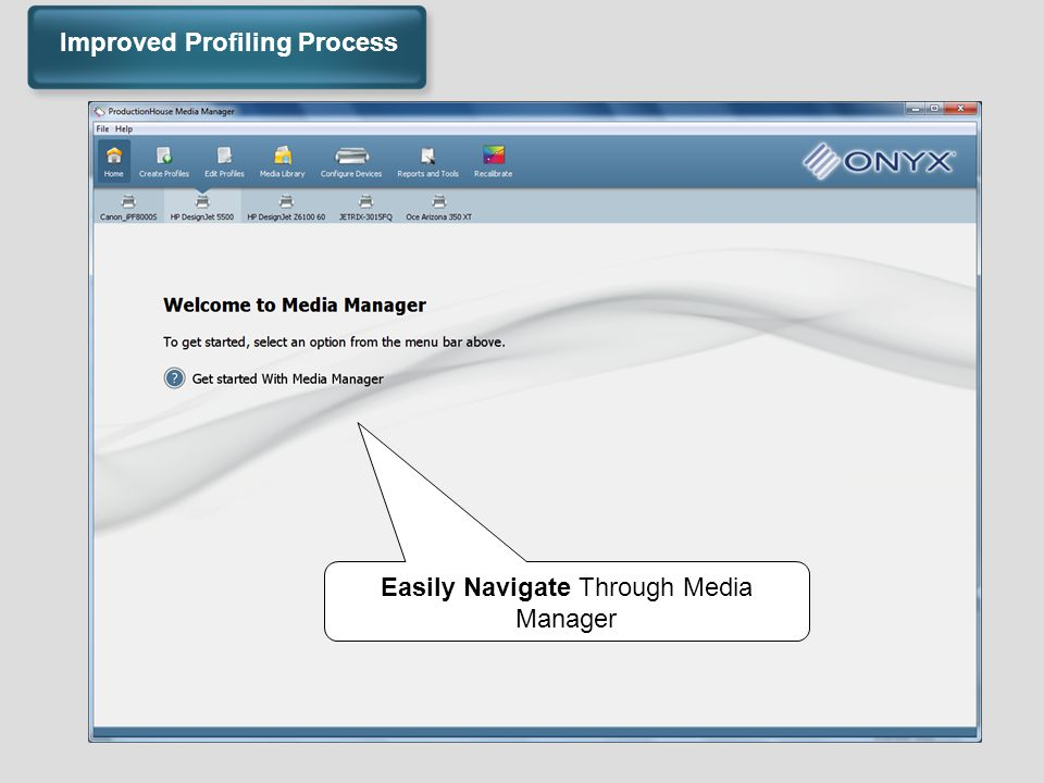 Easily Navigate Through Media Manager Improved Profiling Process