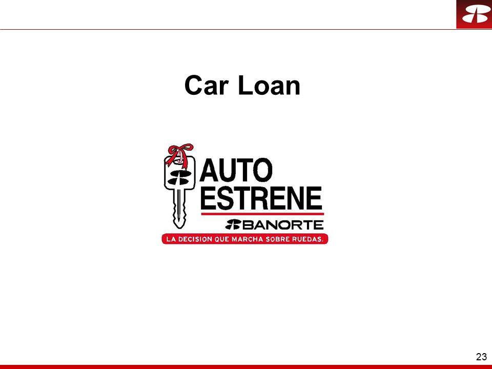 23 Car Loan