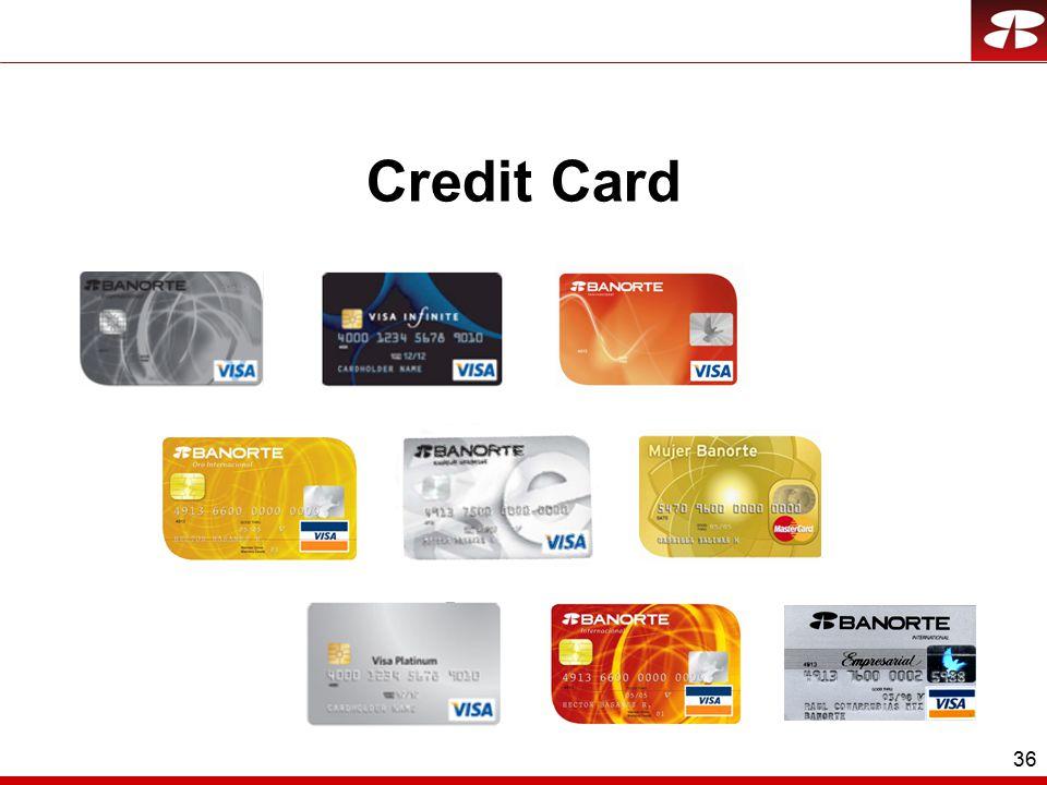 36 Credit Card