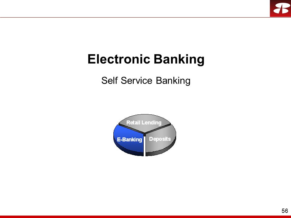 56 Electronic Banking Self Service Banking