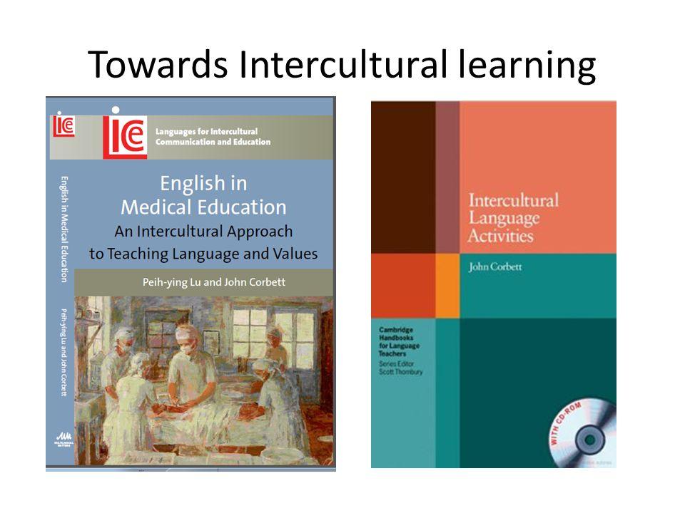 Towards Intercultural learning