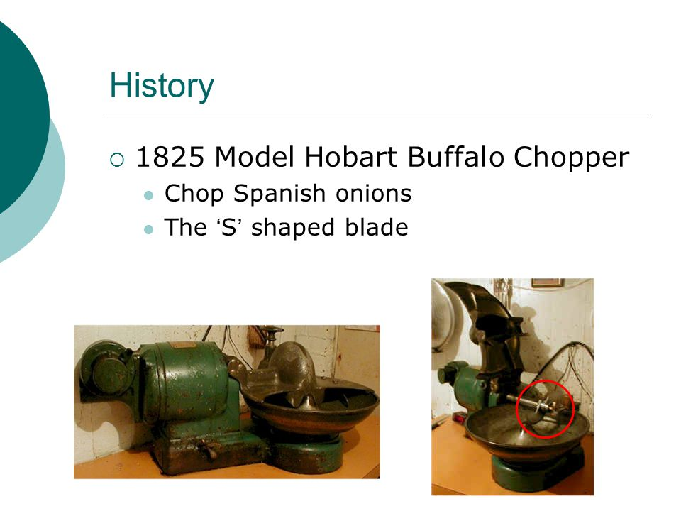 Why is it called Buffalo Chopper.