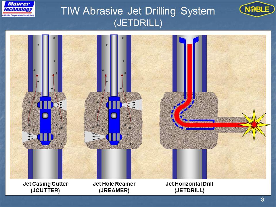3 TIW Abrasive Jet Drilling System (JETDRILL)