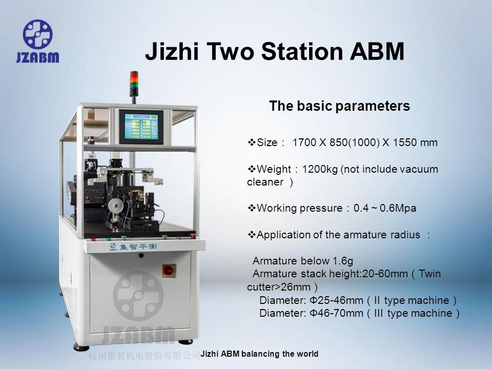 Jizhi ABM balancing the world Armatures