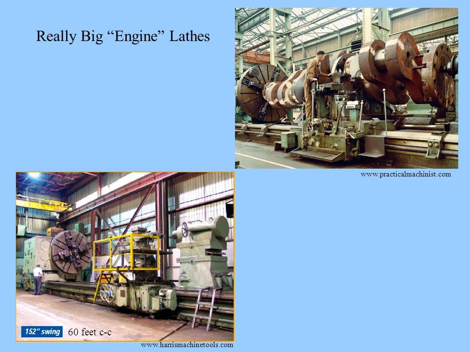 www.harrismachinetools.com 60 feet c-c www.practicalmachinist.com Really Big Engine Lathes