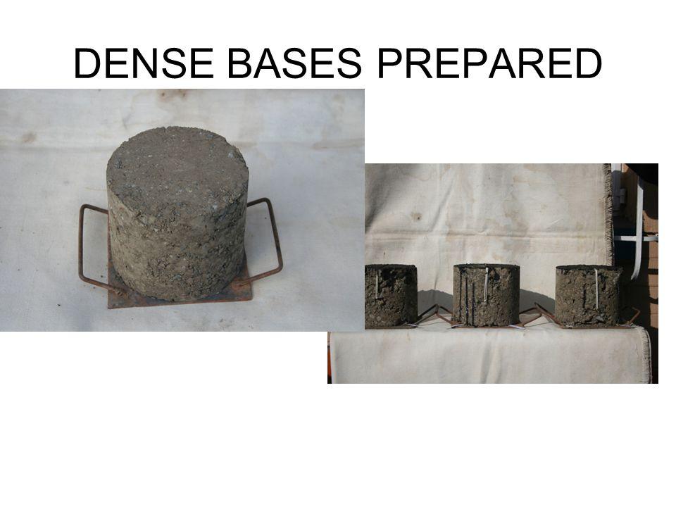 DENSE BASES PREPARED