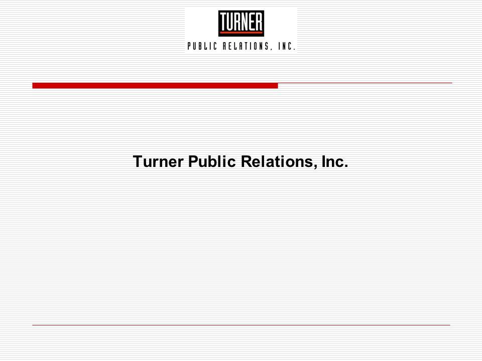 Turner Public Relations, Inc.