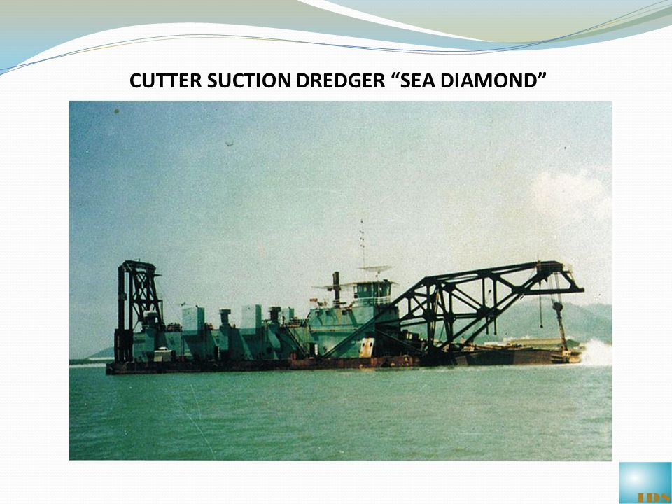 CUTTER SUCTION DREDGER SEA DIAMOND