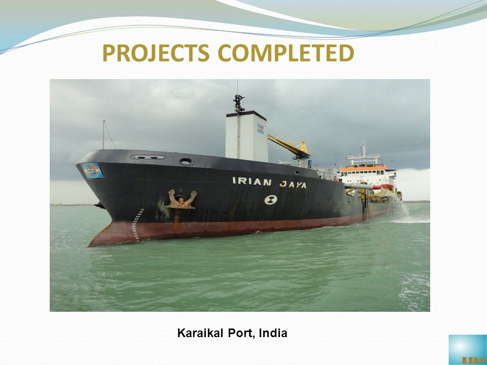 Karaikal Port, India PROJECTS COMPLETED